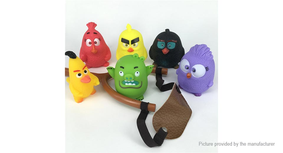 Angry Birds Mini Figure Doll Toy (6-Piece Set)