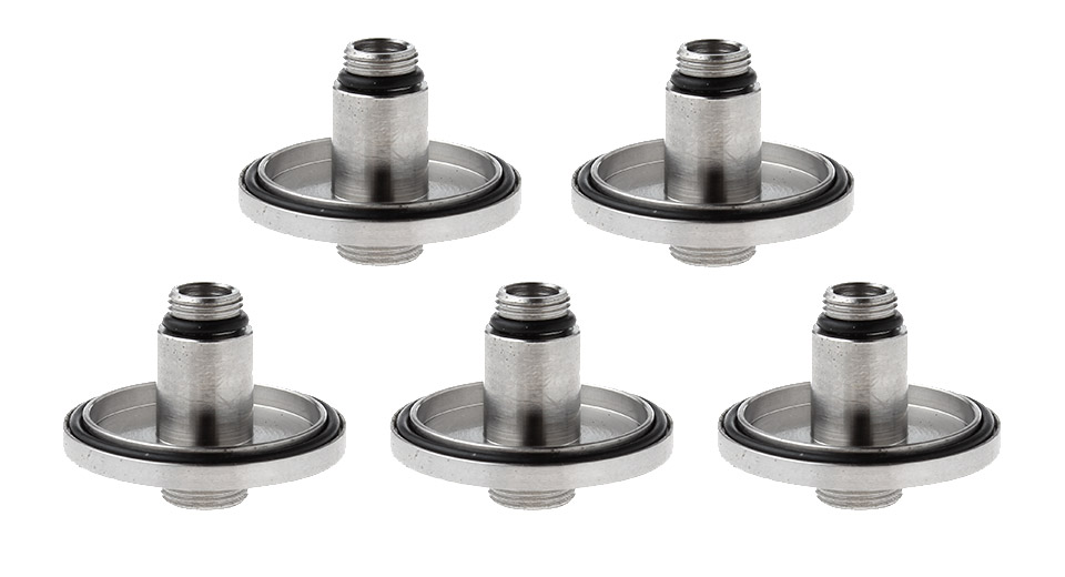 Replacement Base Geekvape Avocado 22 RDTA Atomizer (5-Pack) Base, Silver, 5-Pack