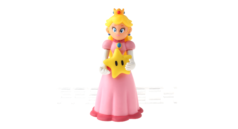 Super Mario Bros Peach Princess Figure Toy