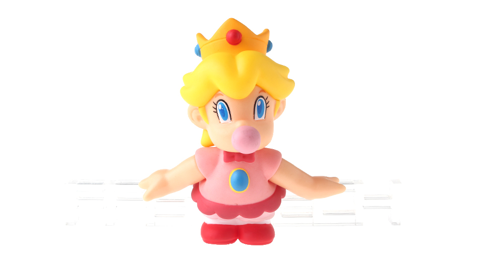 Super Mario Bros Pacifier Princess Figure Toy