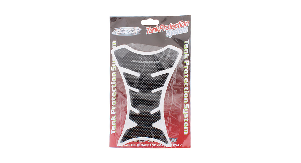 Motorcycle Fishbone Styled Fuel Tank Sticker Protector (2-Pack)
