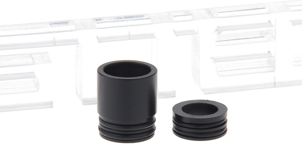 Image of Authentic Clrane Plastic Drip Tip + 510 Drip Tip Adapter for GeekVape Griffin 25 RTA Atomizer (2 Pieces)