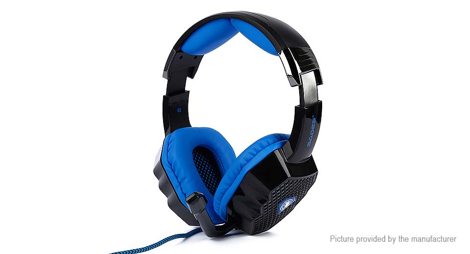 Authentic SADES A70 USB Wired Headset