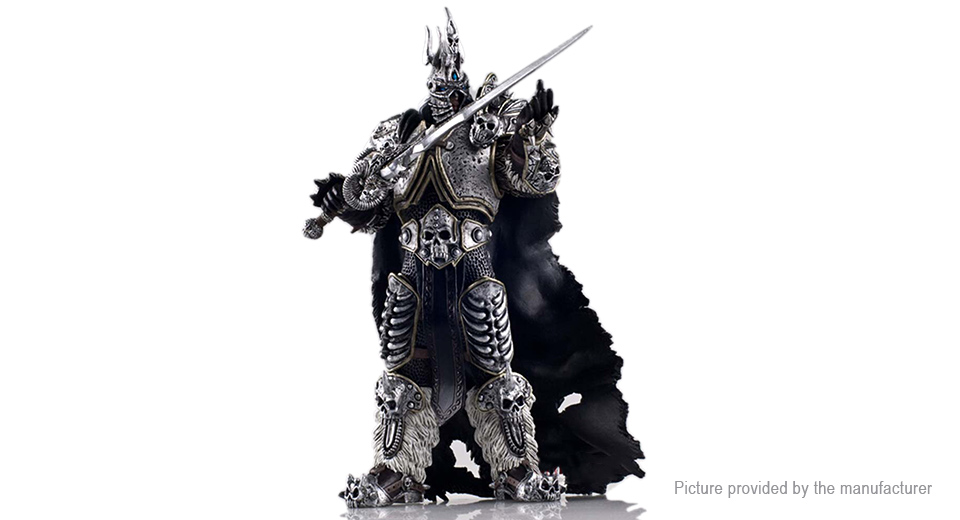 "WOW World of Warcraft 7"" Arthas Figure Toy"