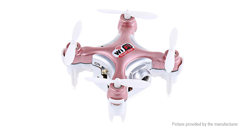 Image of Authentic Cheerson CX-10WD-TX R/C Quadcopter (Wifi FPV, 0.3MP)