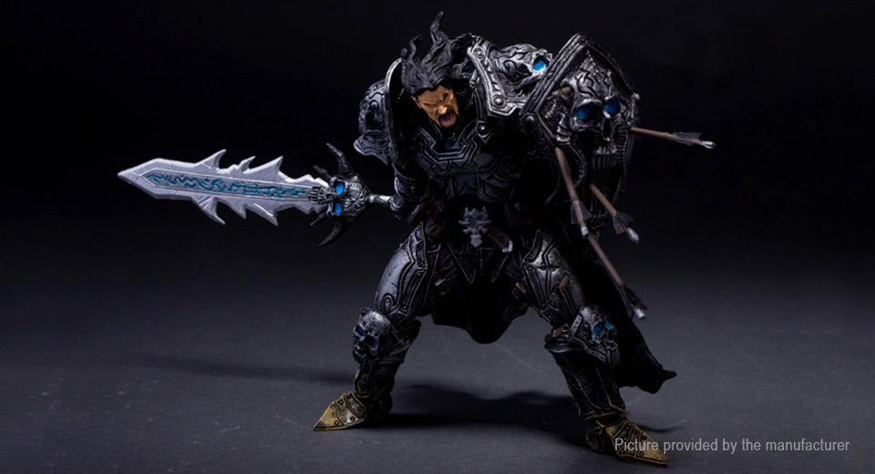 WOW World of Warcraft Death Knight Figure Toy