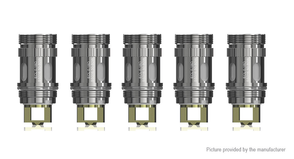 Image of Authentic Eleaf Replacement ECL Coil Head (5-Pack)
