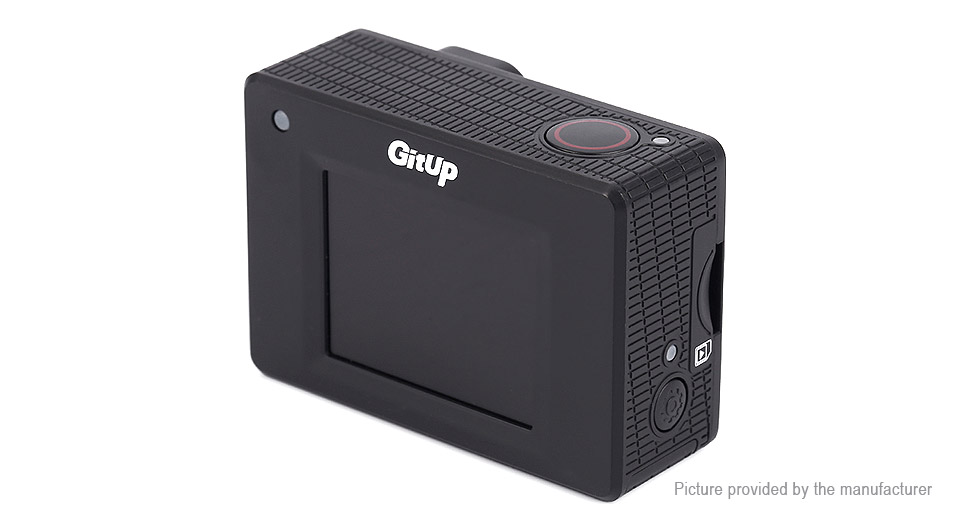 Authentic GitUp GIT2 2K Wifi Action Camera (Standard Packing) GIT2 (Standard Packing)