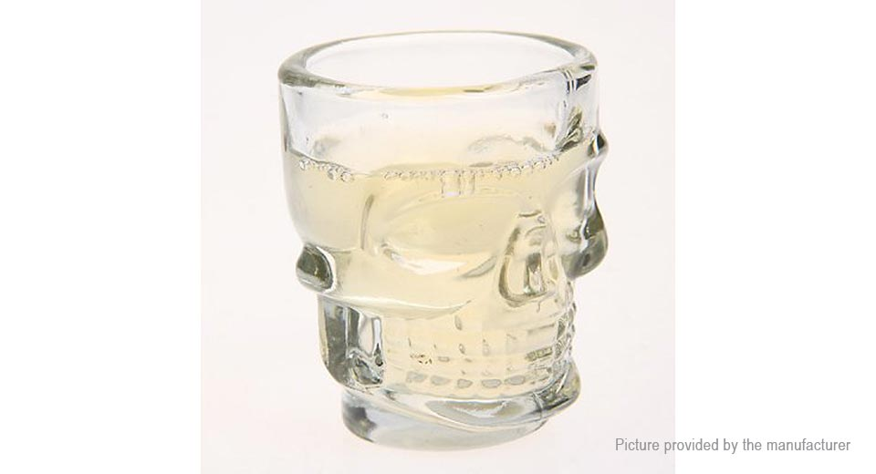 Creative Skull Design Cup Shot Glass (500ml)
