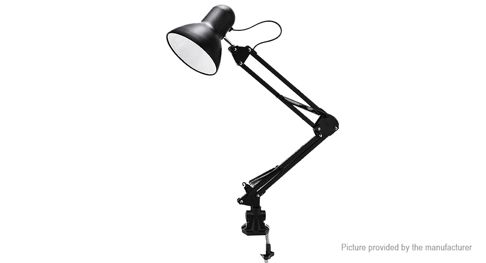 OneFire Clip-on Architect Swing Arm LED Desk Lamp