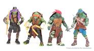 Buy Teenage Mutant Ninja Turtles Figure Doll Toy Set (4-Piece Set) Turtles-B, 4-Piece