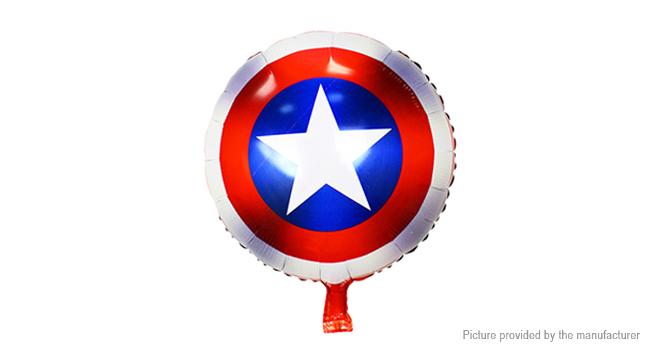 Marvel the Avengers Captain America Shield Aluminium Foil Balloon