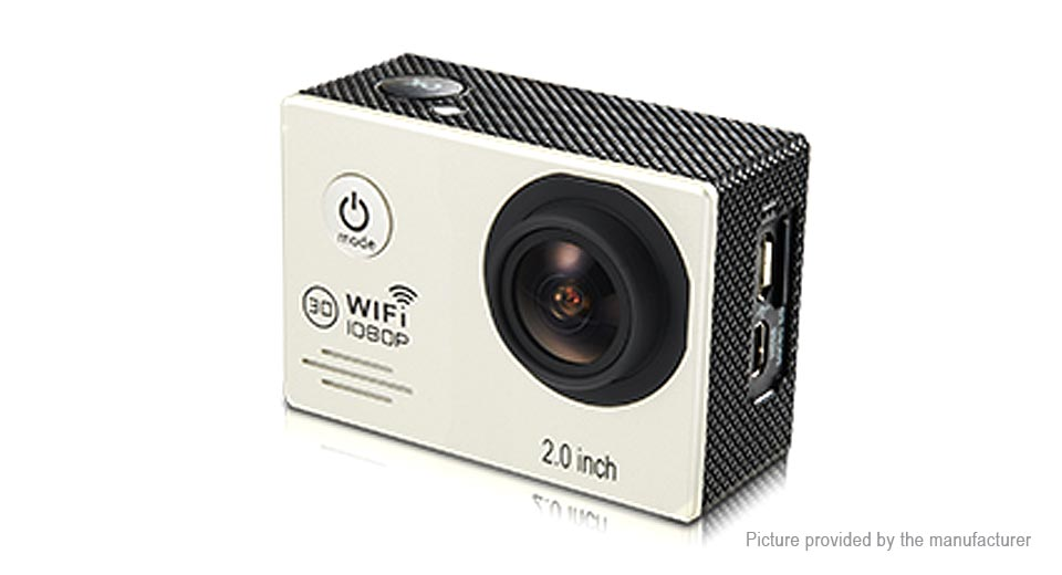 MEEE GOU M6 2.0 1080p HD Wifi Sports Action Camera