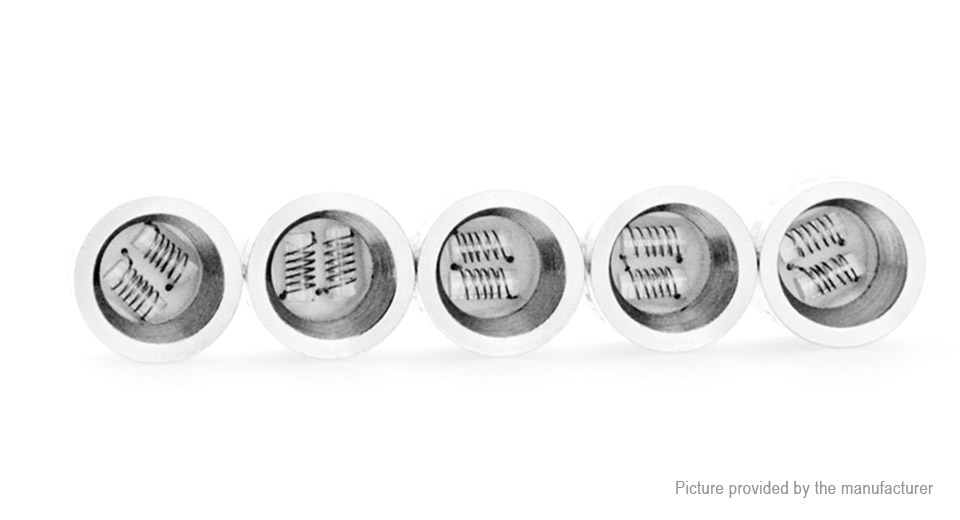 Image of Authentic Yocan NYX E-Solid / Wax Vaporizer Replacement DQC Coil Head (5-Pack)