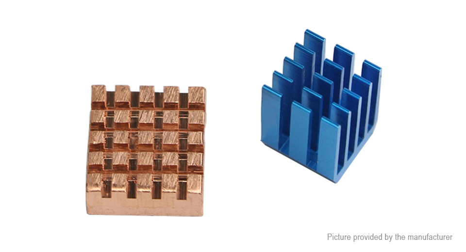 Product Image: copper-aluminum-heatsink-for-raspberry-pi-2