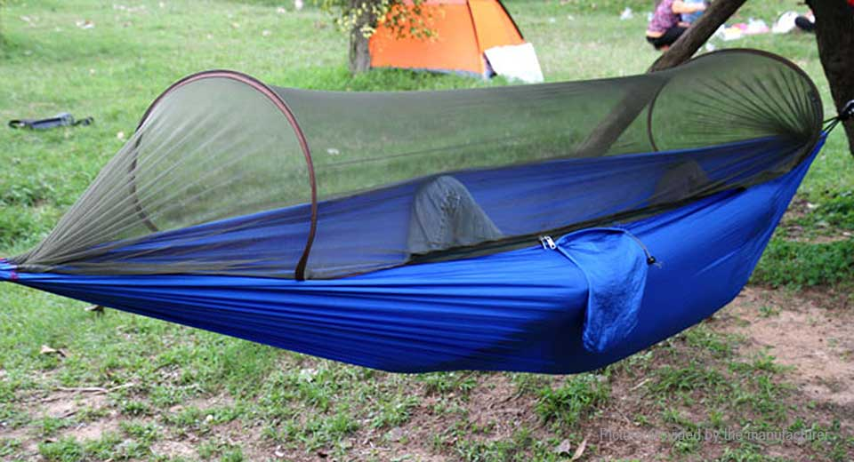 39 14 Travelrer Outdoor Single Person Hammock Tent Pop Up