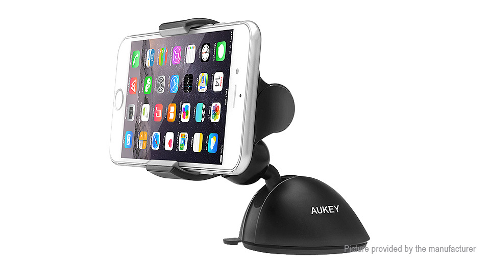 Authentic Aukey HD-C11 Car Suction Cup Holder Stand for Cellphones