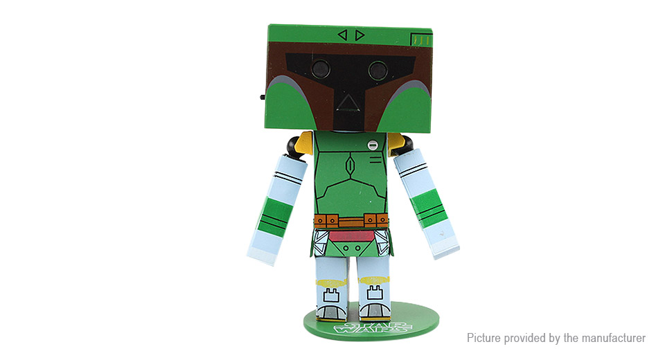 Star Wars Boba Danboard Styled Figure Doll Toy