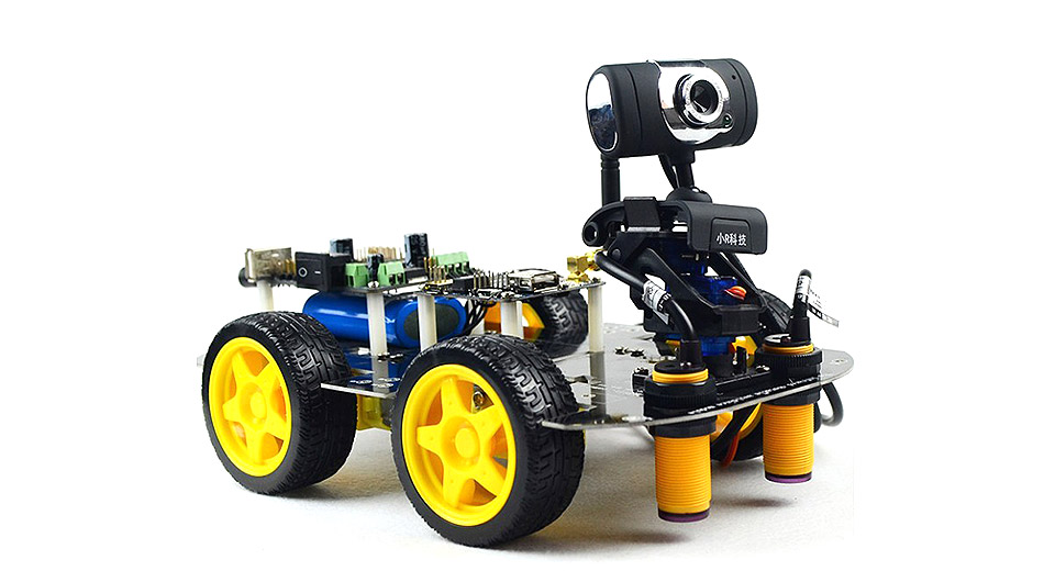 DIY Electronics 5458400 51 DS Wifi Smart Car Robot Kit