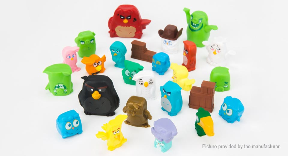 Angry Birds Figure Doll Toy Set (25-Piece Set)
