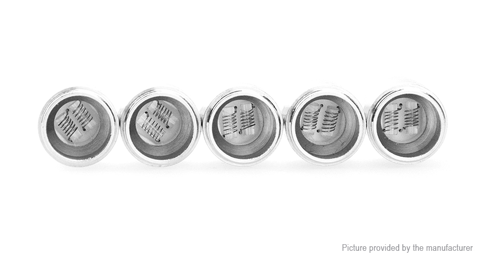 Image of Authentic Yocan Evolve Replacement QDC Coil Head (5-Pack)