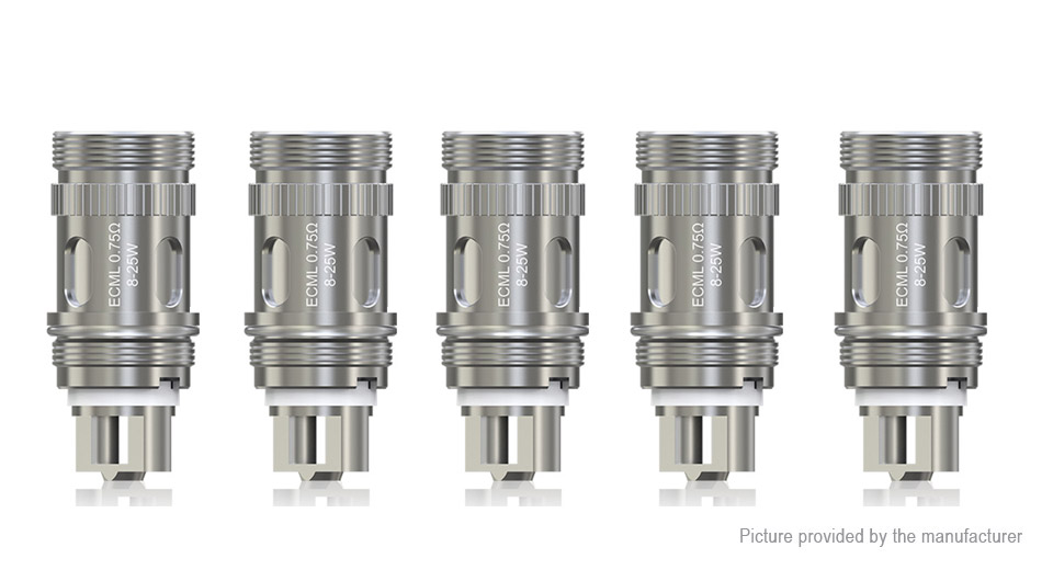 Image of Authentic Eleaf ECML Coil Head (5-Pack)
