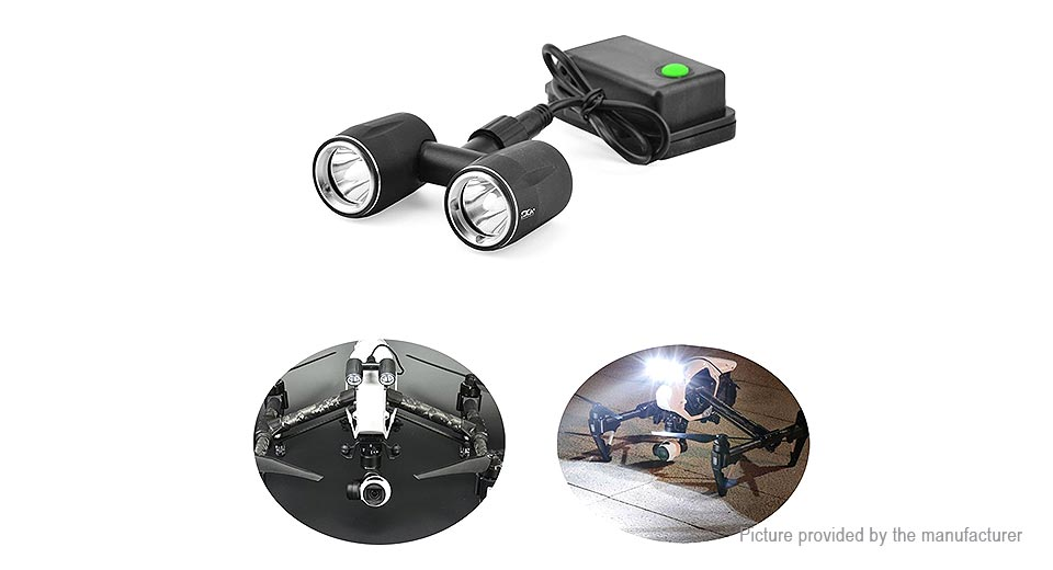 Image of PGY INL-003 LED Headlight FPV Night Flying Light for DJI Inspire 1