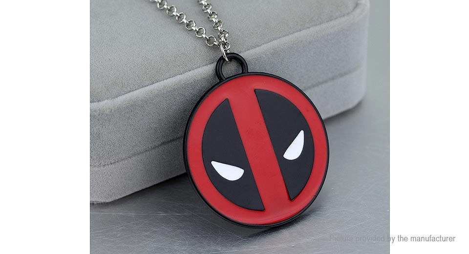 Deadpool Logo Pendant Necklace