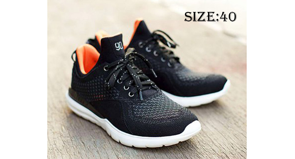 Image of Authentic Xiaomi Mi Smart Running Sneakers (Black/Size 40)