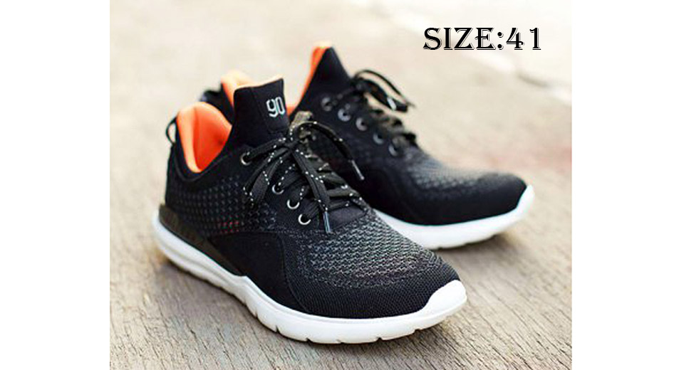 Image of Authentic Xiaomi Mi Smart Running Sneakers (Black/Size 41)