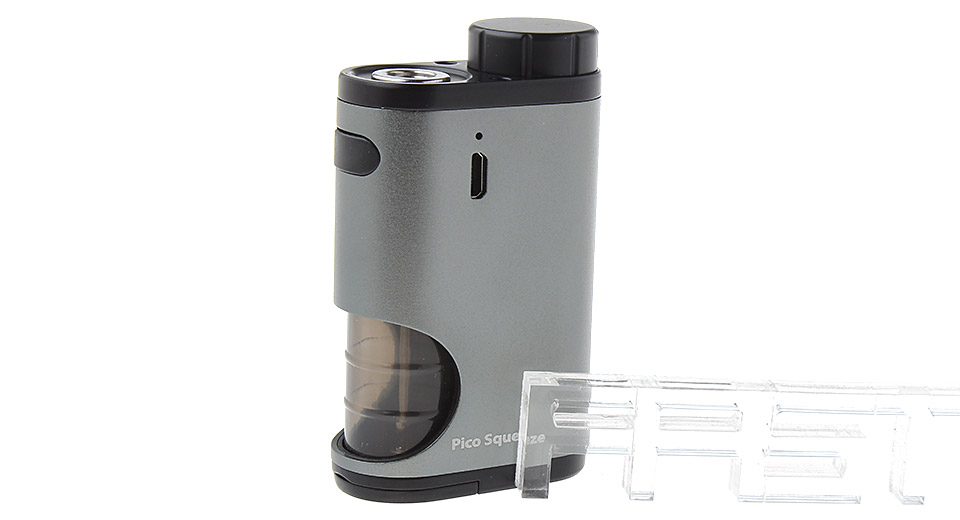 Authentic Eleaf Pico Squeeze 50W 18650 Mechanical Squonk Box Mod (Grey)