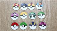 Buy Pocket Monster Poke Ball Pendant Set (12-Pieces Set) Monster, Ball, 12-Pieces