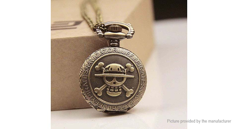 Skull One Piece Styled Alloy Pocket Watch