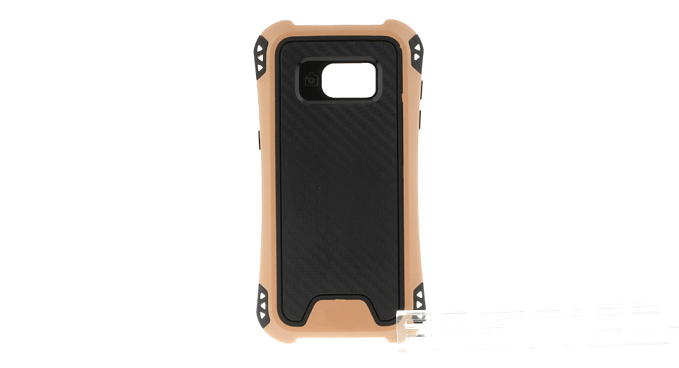 Image of 2-in-1 TPU + PC Protective Back Case Cover for Samsung Galaxy S7 Edge