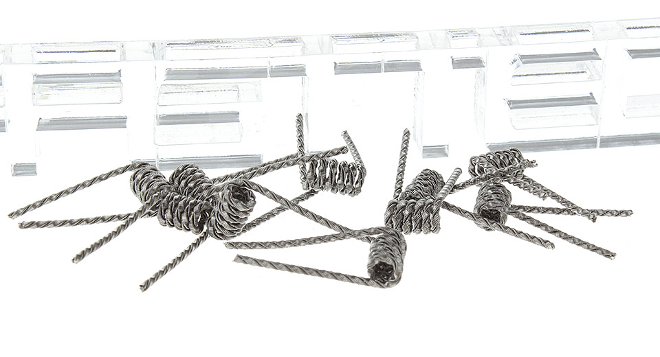 Image of Kanthal Flat Clapton Twisted Pre-Coiled Wires for RBA Atomizers (10-Pack)