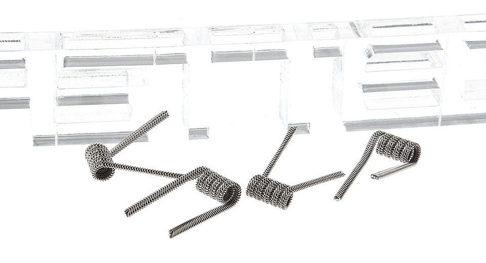 Image of Kanthal 3-Alien Pre-Coiled Wires for RBA Atomizers (4-Pack)