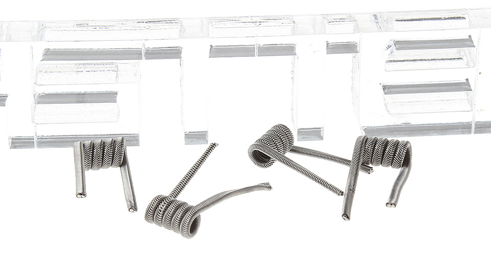 Image of 2-Alien Nichrome Pre-Coiled Wires for RBA Atomizers (4-Pack)