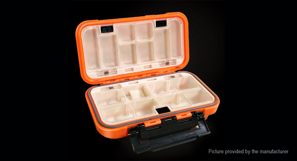 Water Resistant Fishing Tactical Utility Storage Box (Size S)