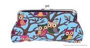 Buy Owl Pattern Women's Canvas Coin Purse Blue D for $2.20 in Fasttech store