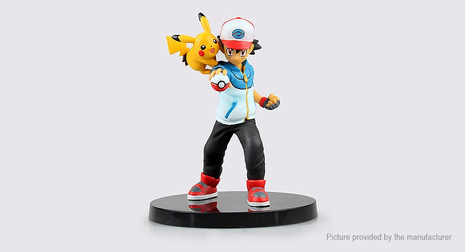 Pocket Monster Ash Ketchum Action Figure Toy