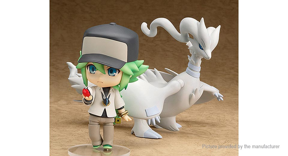 Pocket Monster Reshiram Anime Action Figure Toy Set (2-Piece Set)