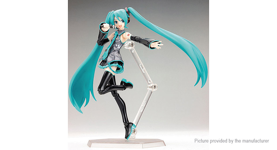 Hatsune Miku Moveable Anime Action Figure Toy