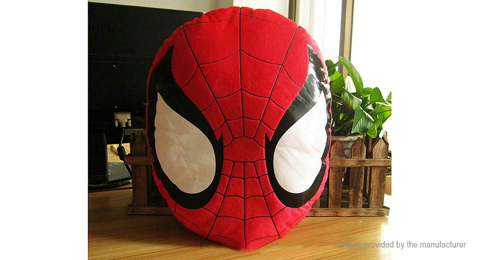 Spider-Man Styled Cushion Pillow Stuffed Plush Toy