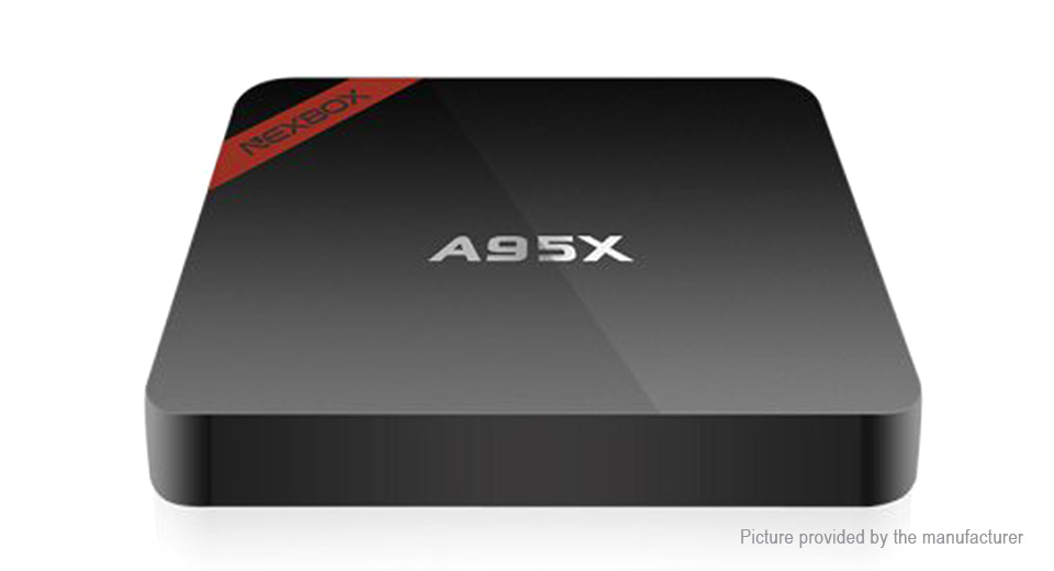 NEXBOX A95X Quad-Core Marshmallow TV Box (16GB/EU) A95X, Black, EU