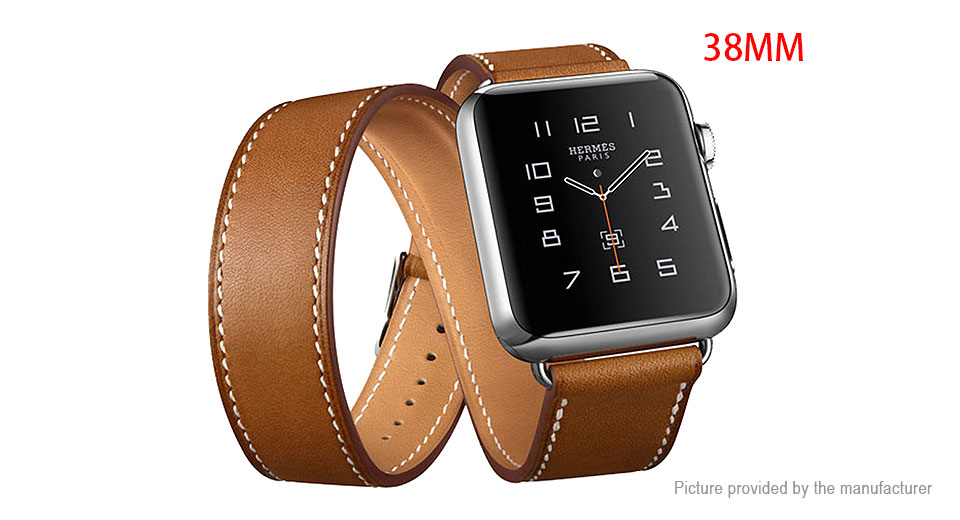 Authentic hoco Replacement Leather Watchband Strap for Apple Watch 38mm