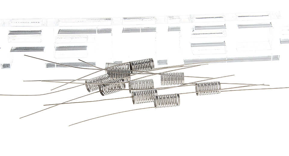 Image of 316 Stainless Steel Notch Coil Wire for RBA Atomizers (10-Pack)