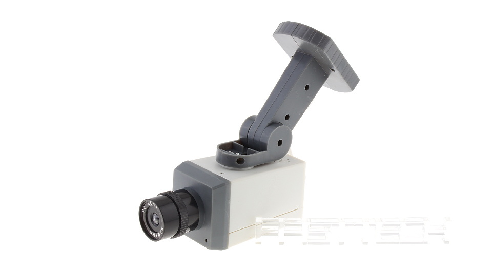 Realistic Looking Motion Detection Dummy Security Camera