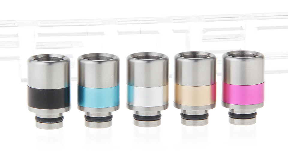 Stainless Steel 510 Drip Tip (5 Pieces)