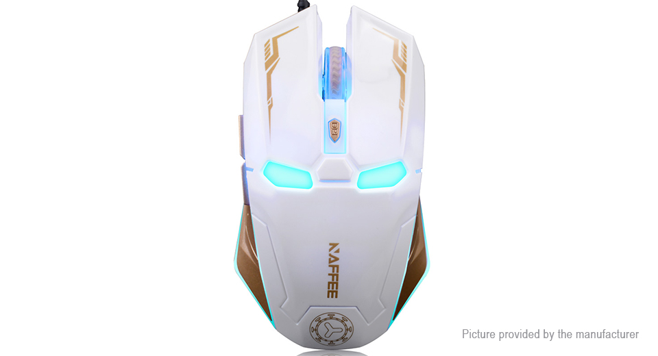 NAFFEE G5 2.4GHz Wireless Optical Soundless Gaming Mouse