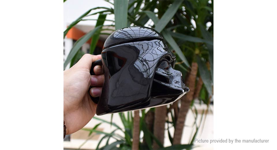 Star Wars Darth Vader Styled Helmet Cup